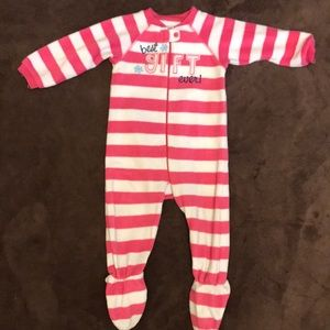 Other - Baby Girl's Children's Place Striped Christmas PJs